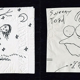 Tim Burton - The Napkin Art of Tim Burton