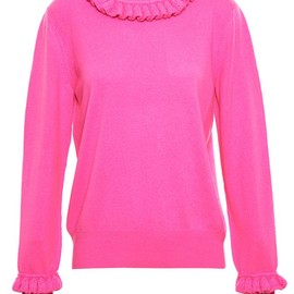 Christopher Kane - frilled cashmere jumper