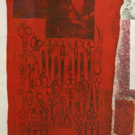 Robert Rauschenberg - More Distant Visible Part of the Sea (1979, 76.2×58.4, ed.100)