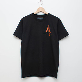 cup and cone - My Blood Tee - Black