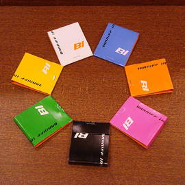 "BRANIFF INTERNATIONAL - ""matchbook"" 7colors Designed by Alexander-Girard"