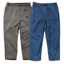 SOPHNET. × nonnative CLIMBER EASY PANTS C/P CORD STRETCH by GRAMICCI OVERDYED with RYUKYU INDIGO