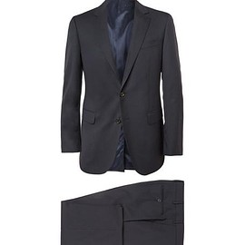 Lanvin - Navy Attitude Slim-Fit Wool Suit