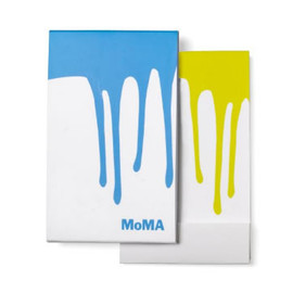 MoMA - Paint Drip Notepads Green