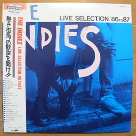Various Artists - The Indies  Live Selection 86 to 87