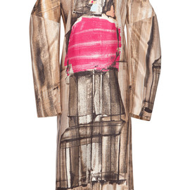 MARNI - FW2014 Abstract Print Long Sleeve Dress