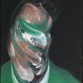 Francis Bacon - Study for Head of Lucian Freud