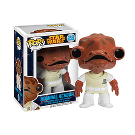 FUNKO - POP! - Star Wars Series: Star Wars - Admiral Ackbar