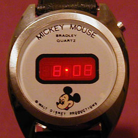 bradley - Mickey Mouse LED Watch
