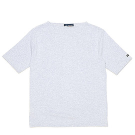 SAINT JAMES - Ouessant Short Sleeve Shirts-Gris Clair