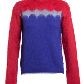 VALENTINO - Mohair-Wool Scalloped Jumper