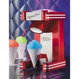 Nostalgia Electrics - ノスタルジア レトロ かき氷機 スノーコーン  Nostalgia Electrics RSM-702 Retro Series Single-Serve Snow Cone Maker