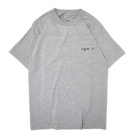 Goodblank - a good b pocket TEE Grey