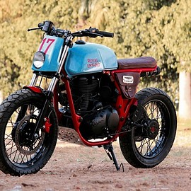 TNT Motorcycles - Royal Enfield Continental Scramler