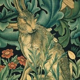 William Morris - 1886-7 'The Hare' Tapestry