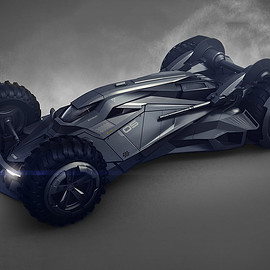 Batmobile Future Concept