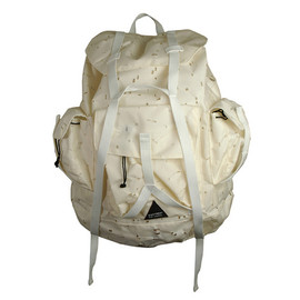 RAF SIMONS - Raf x Eastpak S/S 08 Perforated White Backpack