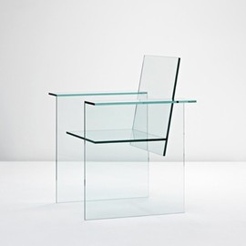 Shiro Kuramata with Mihoya Glass - Glass Chair, ca1976