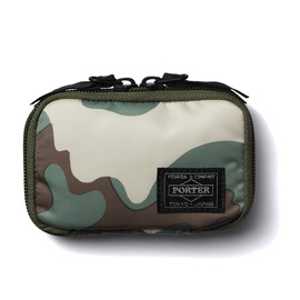 "HEAD PORTER - ""AMBUSH"" ZIP KEY CASE"