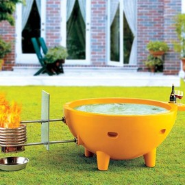 ALFI - Portable Fire Hot Tub
