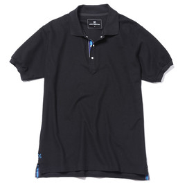 uniform experiment - S/S SNAP POLO SHIRT