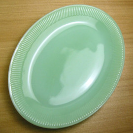 Fire King - Jadeite Jane Ray Platter