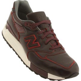 New Balance - New Balance x Horween Leather Men M998WD - Made In USA (purple / maroon)
