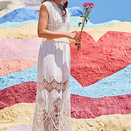 ModCloth - A Question of Timeless Dress in White