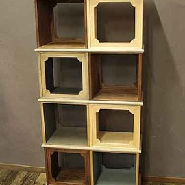 TW Products オリジナル - Stacking Box Cabinet
