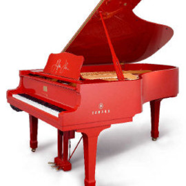 yamaha - red piano