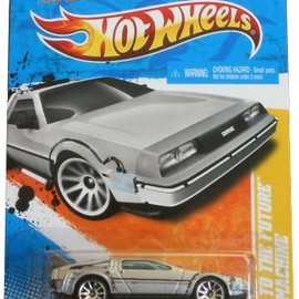 Hot Wheels - Back To The Future Time Machine