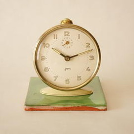 japy - japy/alarm clock/cream/france 1950s/working