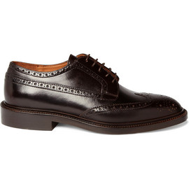 J.CREW - Gifford Leather Wing Tip Brogues