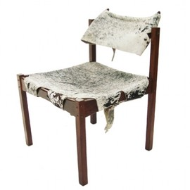Jorge Zalszupin - Chair, Cowhide cover