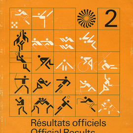 Munich Olympic - Official Results 2, Designed by Otl Aicher, 1972