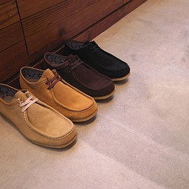 nonnative - DWELLER MOC SHOES LO COW SUEDE WITH GORE-TEX 2L by REGAL