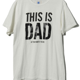 GDC - This is Dad Tshirt (White×Black)