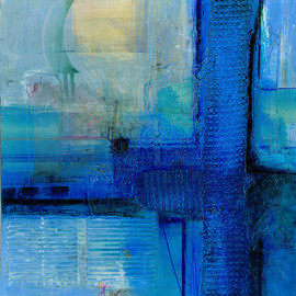 Kathy Morton-Stanion - Serene Moments No. 2 ... Large Original Contemporary Modern Zen mixed media art painting