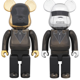 MEDICOM TOY - BE@RBRICK DAFT PUNK (Random Access Memories Ver.)2PACK 400%