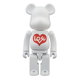 MEDICOM TOY - BE@RBRICK 超合金 LOVE BIANCO