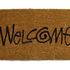 """Stussy - Stussy Livin' General Store """"Welcome"""" Large Mat"""