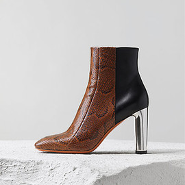 CELINE - 90MM LAMBSKIN BAM BAM ANCLE BOOT