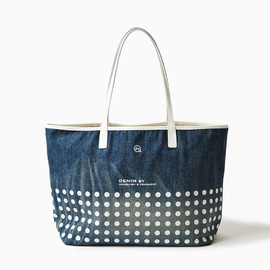 DENIM BY VANQUISH& FRAGMENT - DENIM DOT TOTE BAG