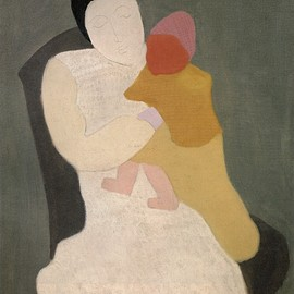 Milton Avery - MOTHER AND CHILD