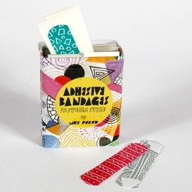 "URBAN OUTFITTERS - ""ADHESIVE BANDAGES"", Limited Edition, Illustation Mike Perry"