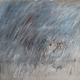 "Cy Twombly - ""Untitled ,1972""  200 × 260cm"
