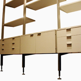 Herman Miller - Comprehensive Storage System (CSS) White Designed by George Nelson