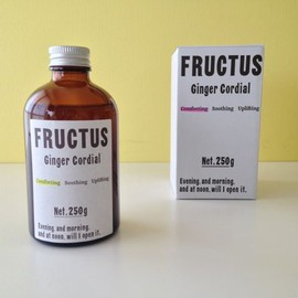 Fructus - Comforting ジンジャーコーディアル Playing it simple, keeping You Warm