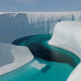 Greenland - Ice Canyon