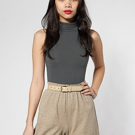 American Apparel - Military Cuff Short in Incense